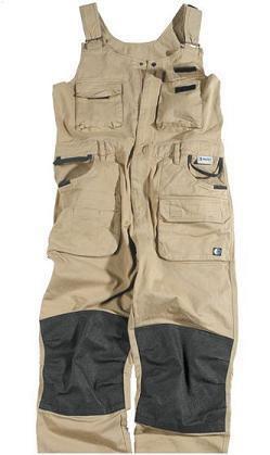 Beckum Workwear EBBT04 Bodybroek khaki